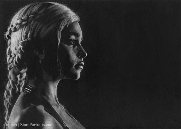 Emilia Clarke by Ilojleen